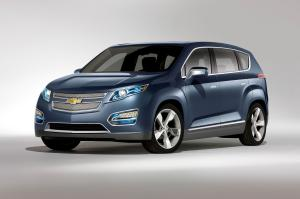 Chevrolet Volt MPV5 Electric Concept 2010 года